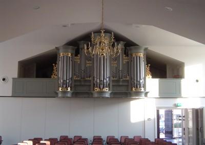 Orgelfront kerkorgel