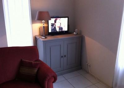 Tv meubel met lift (open)